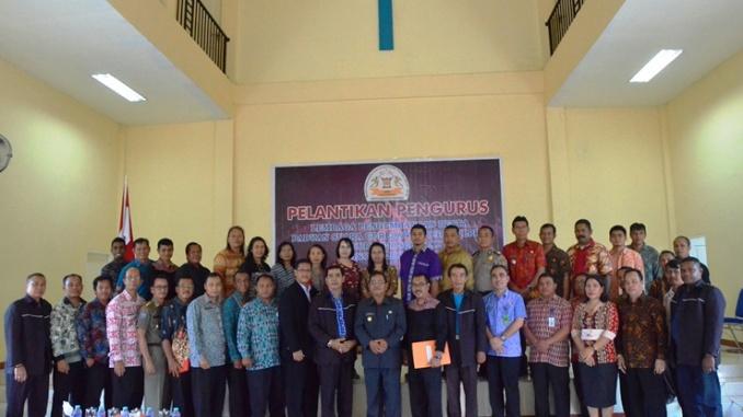 Pelantikan Pengurus LPPD Kabupaten Sekadau tahun 2018